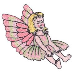 MYLAR FAIRY embroidery design
