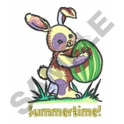SUMMERTIME! embroidery design