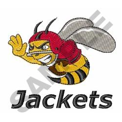 JACKETS FOOTBALL embroidery design
