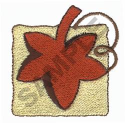 LEAF embroidery design