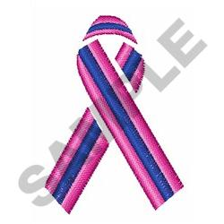 MALE BREAST CANCER embroidery design
