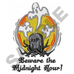 THE MIDNIGHT HOUR embroidery design