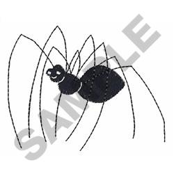 DADDY LONG LEGS SPIDER embroidery design