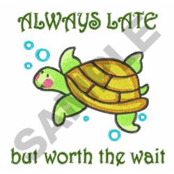 TURTLE BABY embroidery design