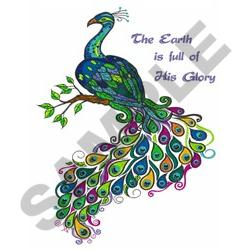 GLORY OF GOD embroidery design