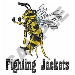 FIGHTING JACKETS embroidery design