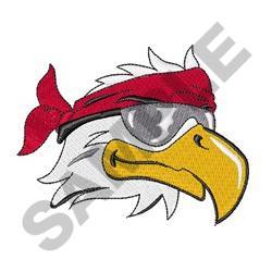 BIKER EAGLE embroidery design