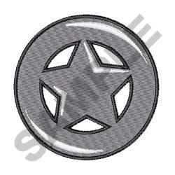 LONE STAR CIRCLE embroidery design