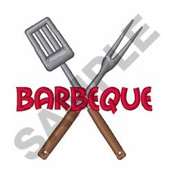 BARBEQUE UTENSILS embroidery design