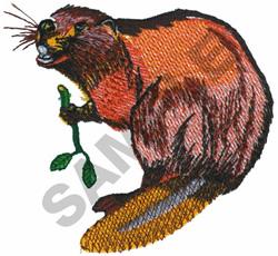 BEAVER embroidery design