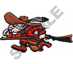 ANIMATED REBEL embroidery design