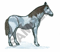 HORSE embroidery design