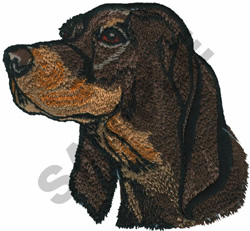 COON HOUND embroidery design