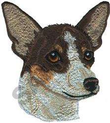 TOY FOX TERRIER embroidery design