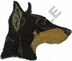DOBERMAN PINSCHER embroidery design