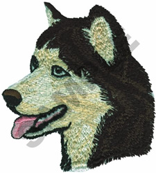 ALASKAN MALAMUTE embroidery design