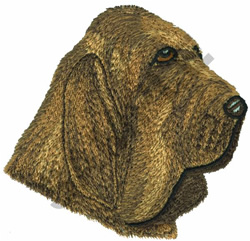 BLOODHOUND embroidery design