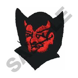 DEVIL W/ CAPE embroidery design