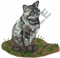 CAT embroidery design