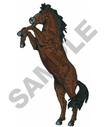 WILD MUSTANG embroidery design