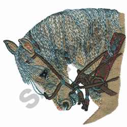 RUSSIAN ORLOV TROTTER embroidery design