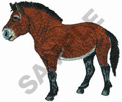 PRZEWALSKIS HORSE embroidery design