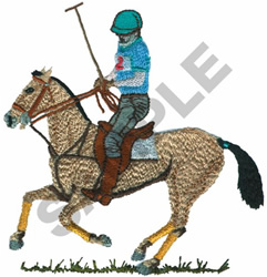 POLO PONY embroidery design
