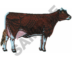 SMALL BROWN SWISS embroidery design