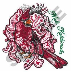 Mele Kalikimaka embroidery design