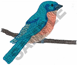 BACKYARD BIRD embroidery design