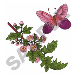 BUTTERFLY 3 embroidery design