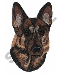 GERMAN SHEPARD embroidery design