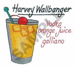 HARVEY WALLBANGER embroidery design