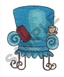 SPA CHAIR embroidery design
