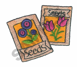 SEEDS embroidery design