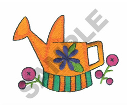 WATERING CAN embroidery design