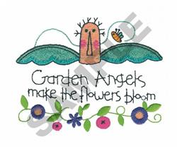 GARDEN ANGELS embroidery design