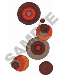 CIRCLE SHAPES embroidery design