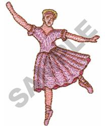 BALLERINA embroidery design