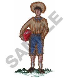 VICTORIAN  BOY embroidery design