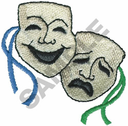 DRAMA embroidery design