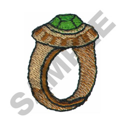 CLASS RING embroidery design