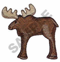 MOOSE embroidery design