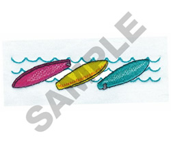 SURFBOARDS embroidery design
