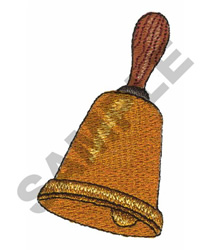 SCHOOL BELL embroidery design