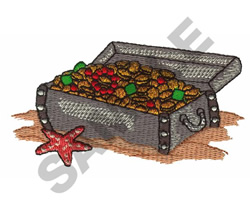 TREASURE CHEST embroidery design