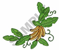 BANANAS ON VINE embroidery design
