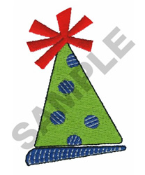 PARTY HAT embroidery design