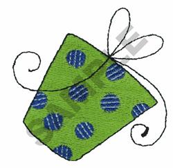 PRESENT embroidery design