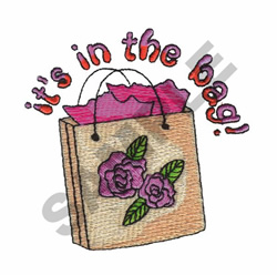 ITS IN THE BAG! embroidery design